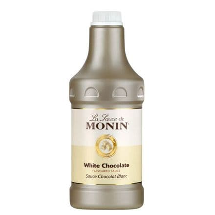 Monin White Chocolate Sauce 1.89Ltr