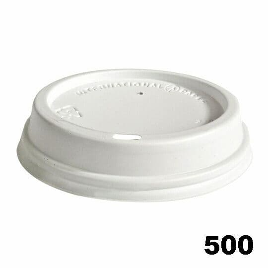 Sip Lids for 12oz / 16oz Cups - White 500