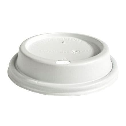 Sip Lids for 8oz Paper Cups - White