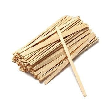 """Wooden Coffee Stirrers 7.5"""" x 1000 Pack"""