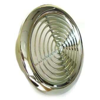 2120C Five Inch Internal Ventilation Grille in Chrome 125mm