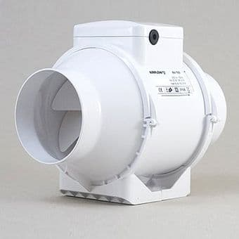 Airflow AV150T Airflow Aventa 6 inch inline extractor fan with timer