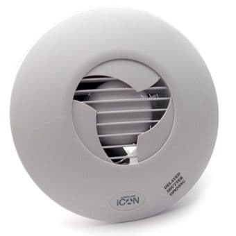 Airflow Icon ECO 15 72683501 100mm Extractor Fan 76m3/hr 21L/s