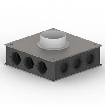 Domus RDM-EP150 Manifold 12 way 75mm Top Entry Radial Ducting