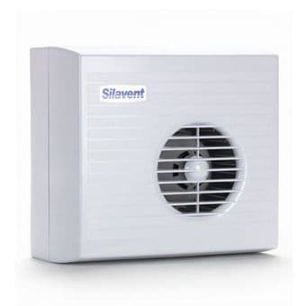 Silavent Curzon CUR7003B 100mm Timer Fan with Centrifugal Impeller