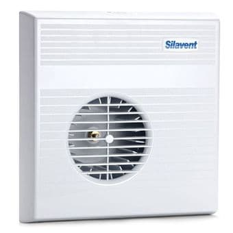 Silavent Mayfair MTD070B Push Fit Centrigual Extractor Fan with Timer