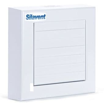Silavent SVC100PB Axial Extractor Fan with Automatic Shutters & Pull Cord