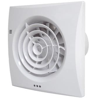 Silent Bathroom Fan with PIR Motion Sensor. Tornado Fan ST100PR