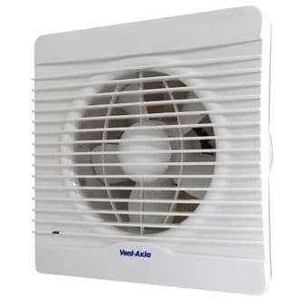 Vent Axia 454061 Silhouette 150XH Six Inch Extractor Fan Humidistat