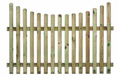 Fencing - Panels - Picket - Concave
