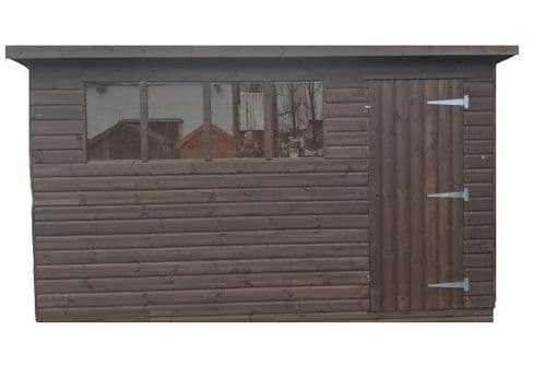 Sheds - Pent Roof - Tongue & Groove - Log Lap Boarding - Heavy Duty