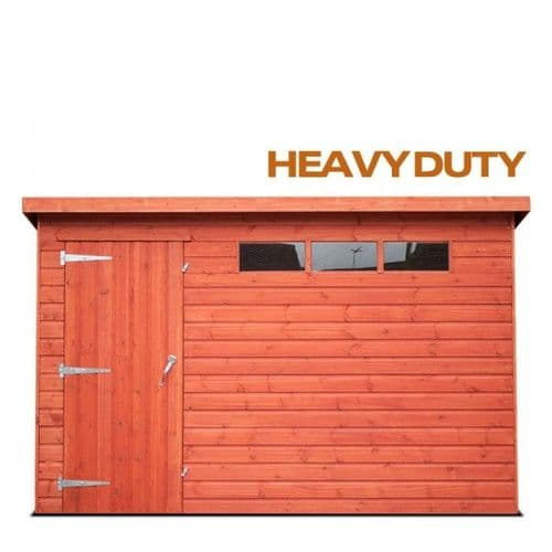 Sheds - Pent Roof - Tongue & Groove Weatherboard - Heavy Duty