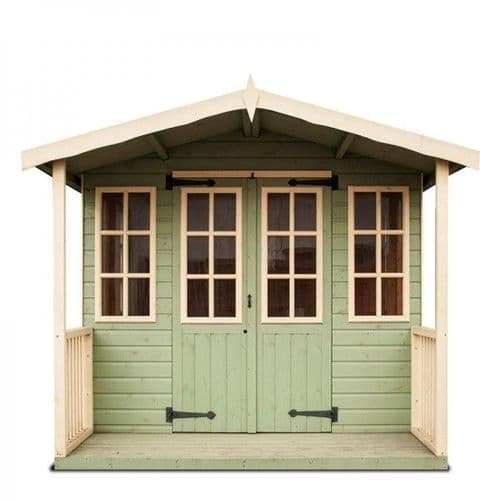 Summer Houses - with veranda - Tongue & Groove Weatherboard