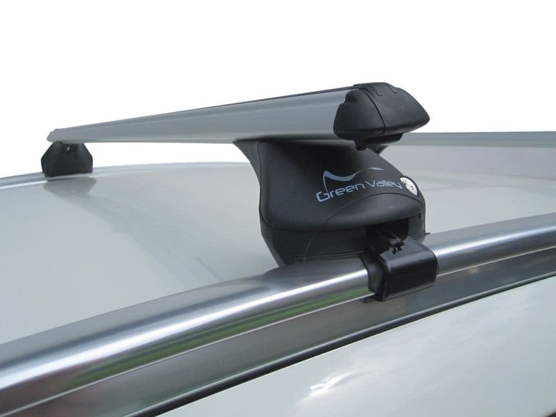 Aero Roof Rack Rail Bars Lockable | Fiat 500X 2015- onwards