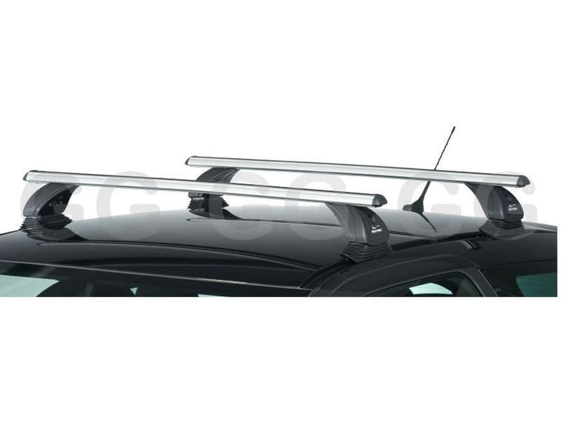 Aluminium Aero Roof Rack Bars Lockable Kia Ceed 5dr Hatchback 2007-2011 Green Valley