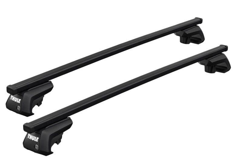 Thule Evo Square Roof Bars | VW Touareg 2005-2009 with Rails