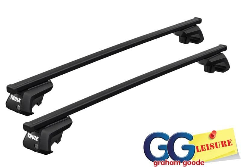 Thule Evo Square Roof Rack Rail Bars | Land Rover Discovery Sport 2015- onwards