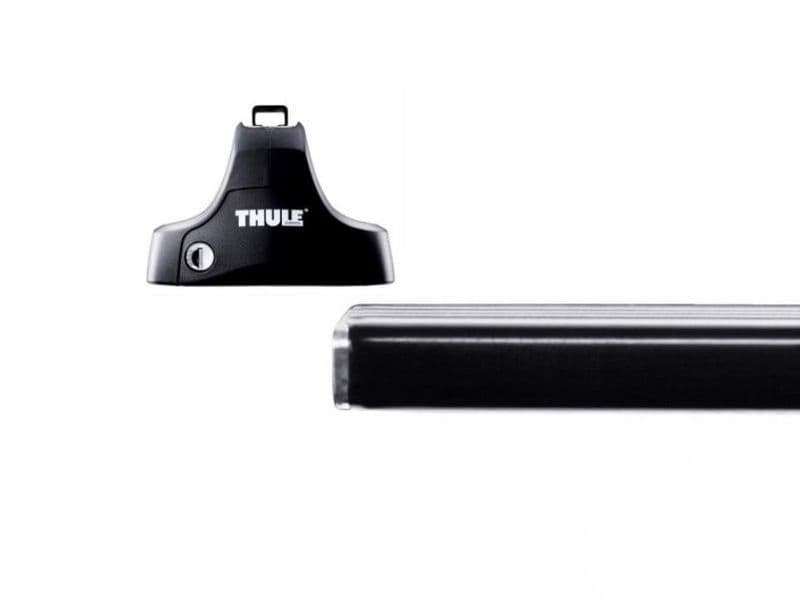 Thule Roof Rack Bars Lockable Honda Jazz 5dr Hatchback 2002-2008