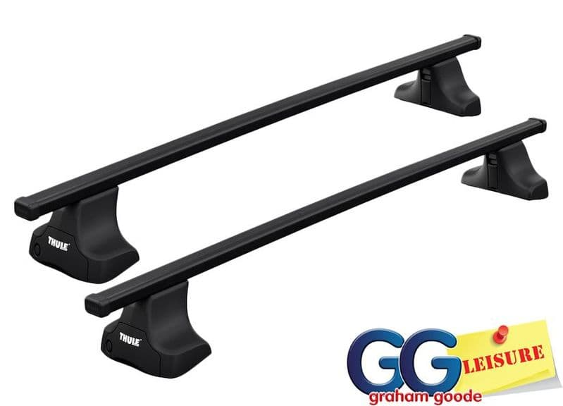 Thule Roof Rack Bars Lockable | Renault Megane 5dr Hatchback 2008-2016