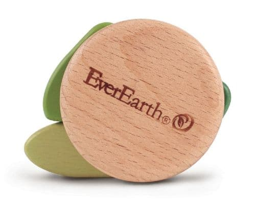 Ever Earth Leaf Rattle beech wood