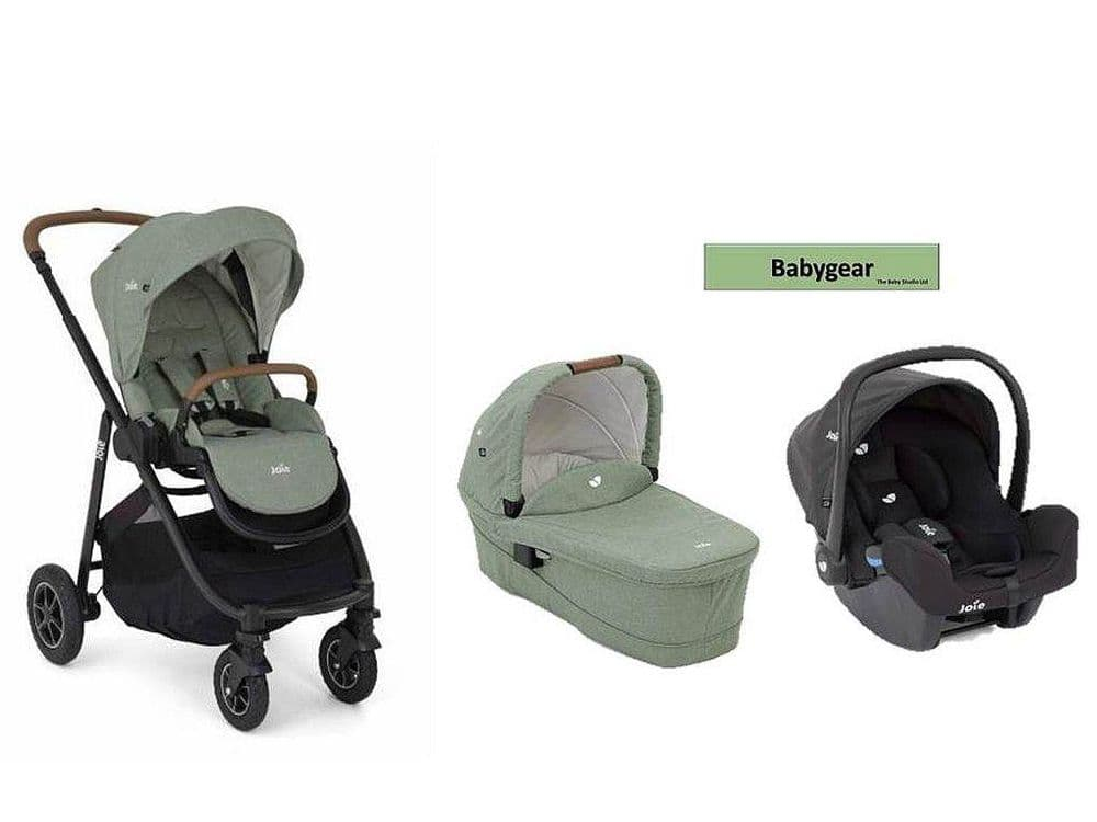 Joie Versatrax Travel System Bundle