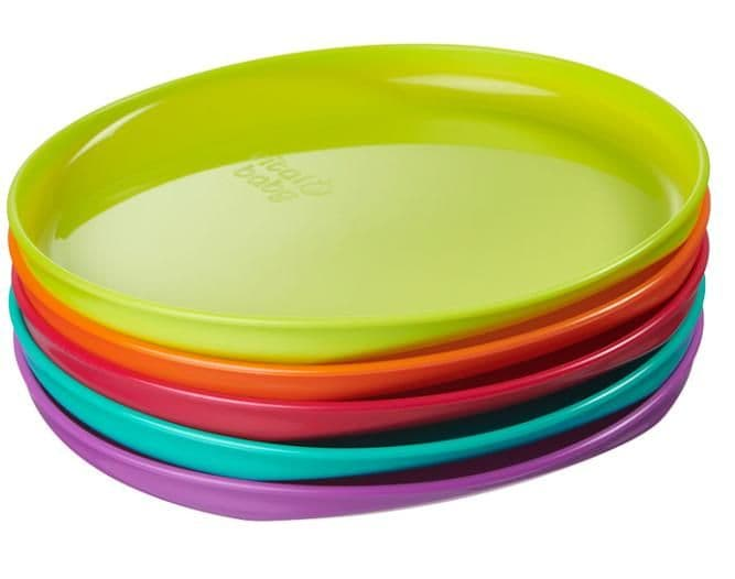 Vital baby perfectly simple plates 5 pack