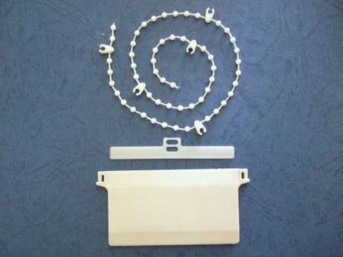 """3.5"""" vertical blind kits-inc weights-chain-hangers"""