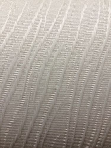 """Full Roll (100m) of Vertical Blind Fabric / Material / 3.5""""(89mm wide) Colour- Chenille Cream"""