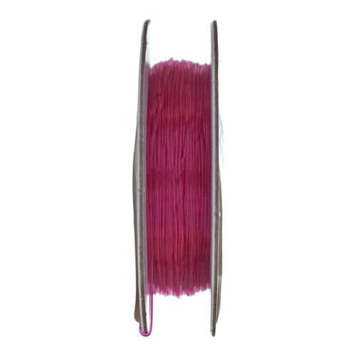 Elastic Cord1 Pack of 25m x 0.5mm Pink