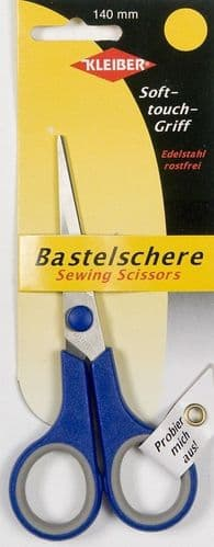 Kleiber Soft Touch Sewing Scissors Blue 140mm