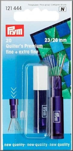 Prym Quilting Needles Fine and Extra Fine Silver