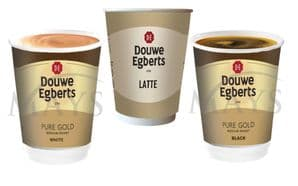 15 Sleeves (150 Cups) Douwe Egberts Variety Pack - 3 Popular Flavours incl Latte
