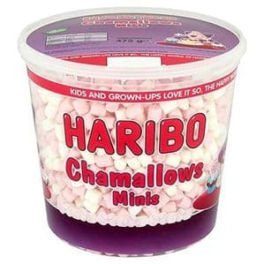 Haribo Chamallows Minis 475g Catering Tub