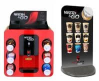 Nescafe &Go Dispenser Machine and  Pavement Sign (Free UK Mainland Express Delivery)