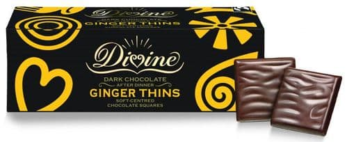 Chocolate - Divine Ginger Thins