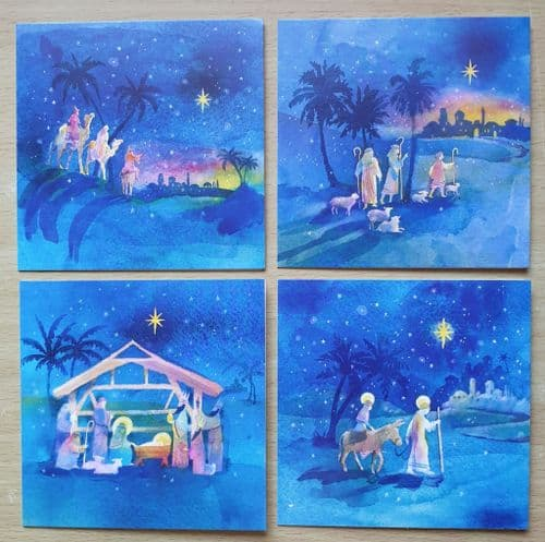 Christmas Card Pack - Scenes of the Christmas Story