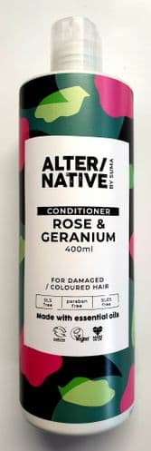 Conditioner - rose & geranium