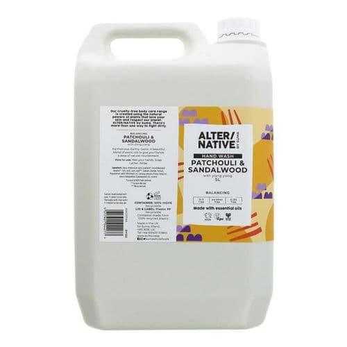 Hand wash Refill - patchouli and sandalwood