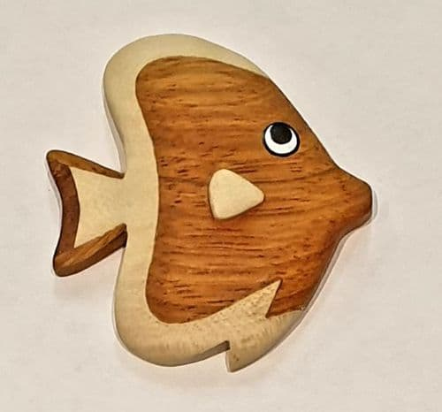 Magnet - Wooden fish 2