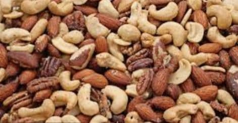 Nuts - mixed with Peanuts