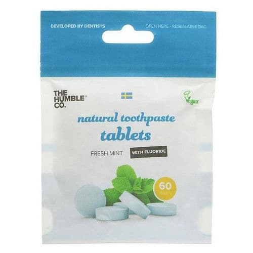 Toothpaste Tablets - Mint with Fluoride