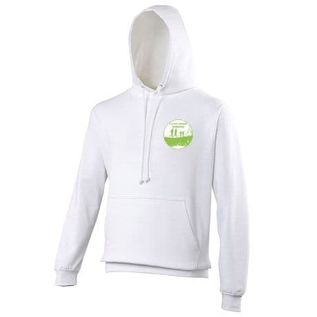 JH001 - Flitch Green Runners Hoodie - Arctic White