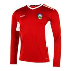 Mitre Diverge Football Jersey - Red/White - SWCH Sport