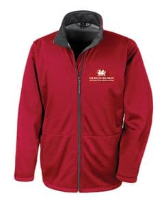R209X Softshell - Welsh Hill Rally - Red